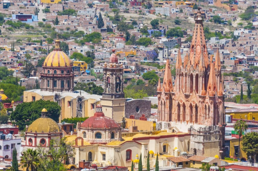 The San Antonio Colonia Of San Miguel De Allende Expats In Mexico