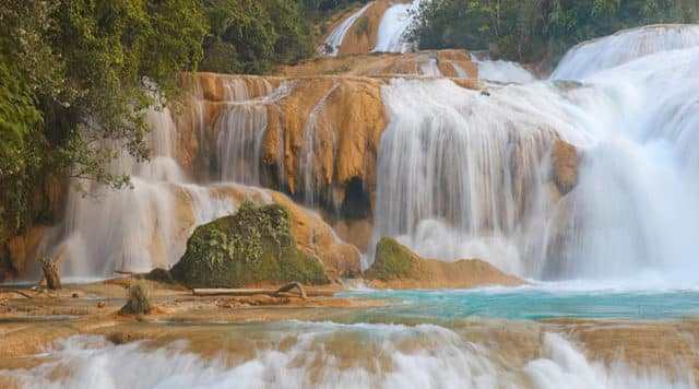 Waterfalls in Chiapas