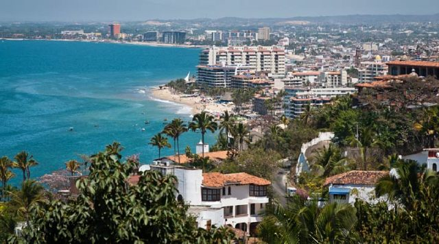 Banderas Bay in Puerto Vallarta