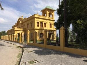 Old train station in Chapala