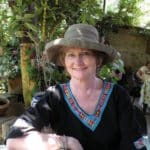 Judy Dykstra-Brown in Lake Chapala