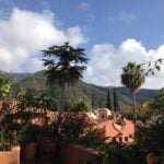 View of hills from an Ajijic residence