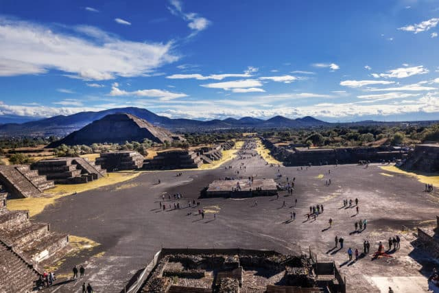 Ancient Mesoamerican city of Teotihuacan