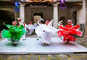Mexican folkloric ballet in Mexico City