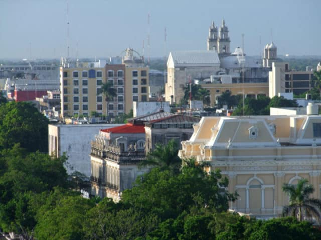 Merida from above