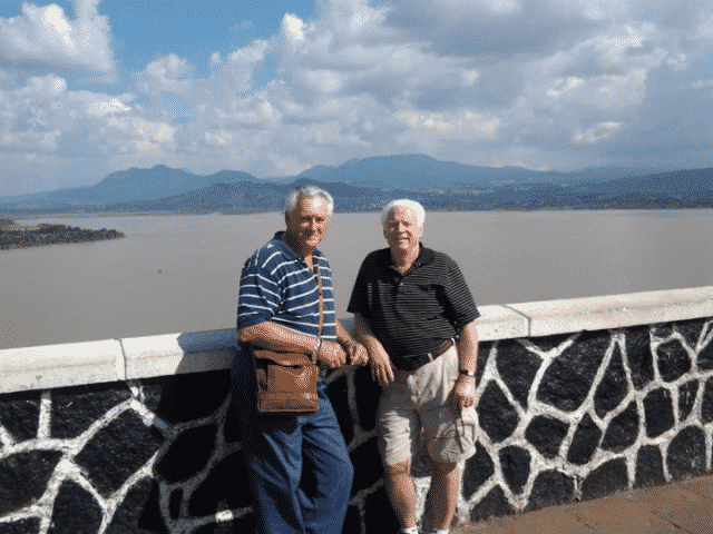 Earl French and John McWilliams in Ajijic | Expats in Mexico