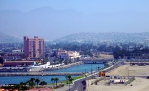 Panorama of Ensenada
