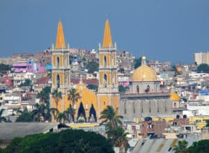 The Cathedral of the Immaculate Conception in Mazatlan