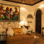 The Mexican Love Suite at Casa Tres Leone's in Ajijic, Mexico