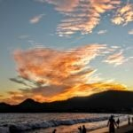 Sunset at the Beach in Malaque, Mexico