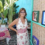 Jeanne McGee in Malaque, Mexico