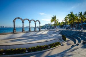 Amphitheater on the Malecón in Puerto Vallarta, Mexico