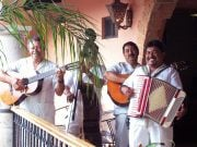 Musicians at Lake Chapala, Mexico