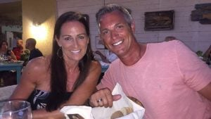 Nichola Lister-Smith and Michael Lister in Mexico