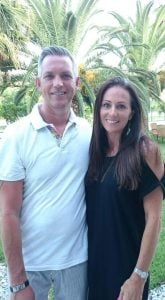 Michael Lister and Nichola Lister-Smith in Mexico