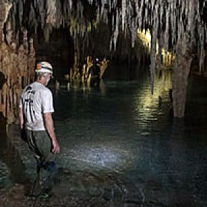 Caving in Mexico