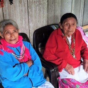 Local People at Top Che, Chiapas, Mexico