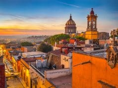 Sunset in San Miguel De Allende
