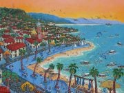 Painting by Puerto Vallarta, Mexico Artist Ada Colorina