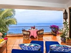 Terrace view from home in Puerto Vallarta, Mexico