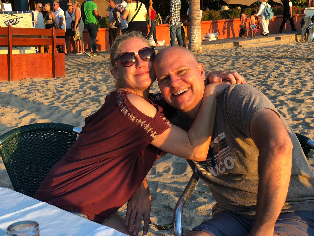 Allison and Todd Nevins in Mexico
