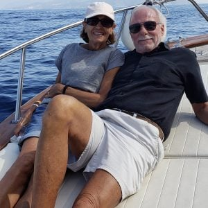 Cathy Rice and Jerry Foote in Puerto Vallarta, Mexico