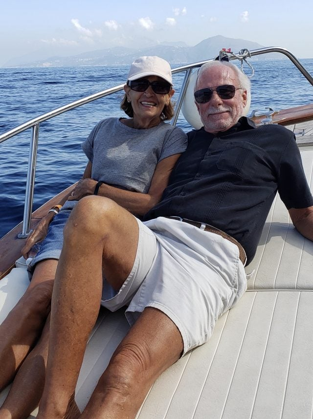 Cathy Rice and Jerry Foote in Puerto Vallarta, Mexico part of the Baby Boomers retire in Mexico movement
