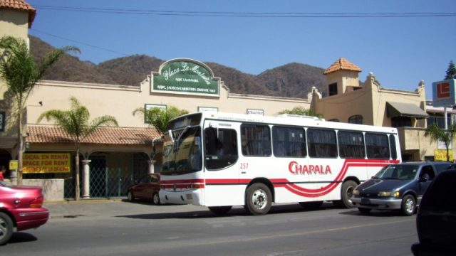 Buses in Lake Chapala, Mexico