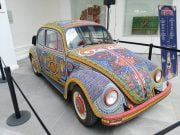 """""""Vochol"""" on display at the Folk Art Museum in Mexico City"""