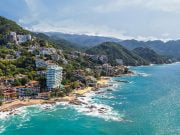 The south shore of Puerto Vallarta, Mexico