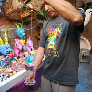 Handcraft toys in Mexico City