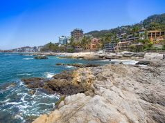 The south coast of Puerto Vallarta, Mexico