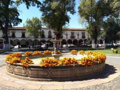 Main Plaza in Pátzcuaro, Mexico