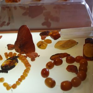 Amber jewelry made in Chiapas, Mexico
